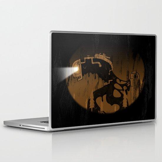 oil monster Laptop & iPad Skin