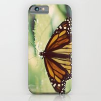 iPhone & iPod Case featuring Monarch by angela haugland