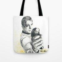 Star Trek: Capt. James T. Kirk Tote Bag