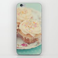 Heavenly cupcakes iPhone & iPod Skin