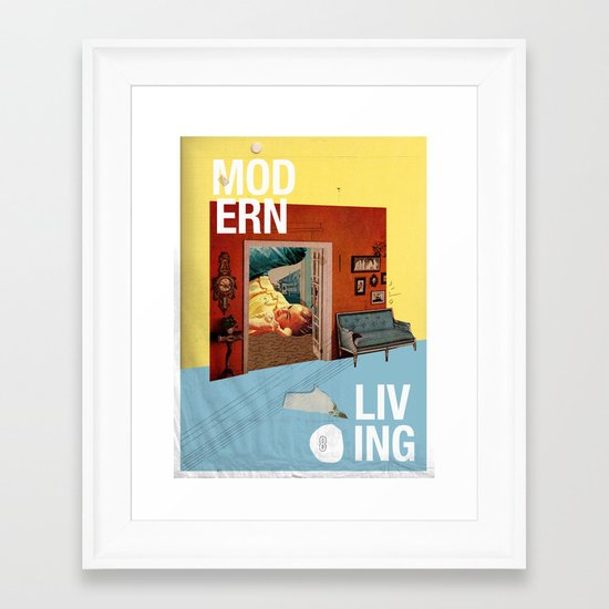 Modern Living  Framed Art Print