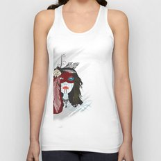 Indian Woman Unisex Tank Top