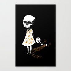 hello creepy Canvas Print