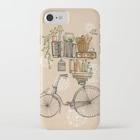 bird iPhone & iPod Cases featuring Pleasant Balance by florever