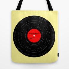 Born to Run- Bruce Springsteen Vinyl Tote Bag