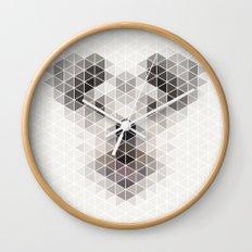 Happy pup Wall Clock