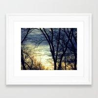 Naked Winter Framed Art Print
