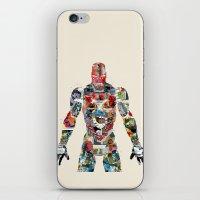 Modern Ironman  iPhone & iPod Skin