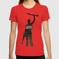T-shirt featuring This Is My Boomstick! Mi… by Kristjan Lyngmo