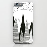 Moonlight Forest (pen on paper) iPhone 6 Slim Case