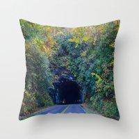 Dream tunnel  Throw Pillow