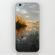 Sunrise On Jackson Lake,… iPhone & iPod Skin