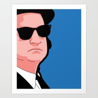 Pop Icons - Tribute Jake Art Print