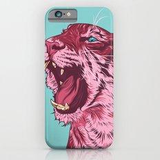 Magenta tiger iPhone 6 Slim Case