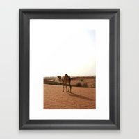 Follow Me! Framed Art Print