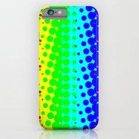 RAINBOW COLOR DOT iPhone 6 Slim Case
