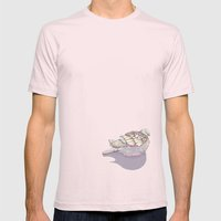 Dove you Mens Fitted Tee Light Pink SMALL