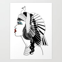 Queen Of The Nile. Art Print