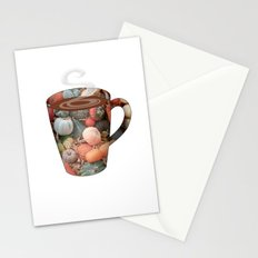 pumpkin spice tall mug - coffee cup series Stationery Cards