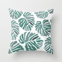 PHILODENDRON Throw Pillow