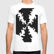 Puzzle SMALL White Mens Fitted Tee