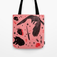 scary horror Tote Bag