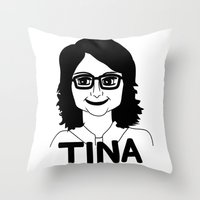 Tina Fey Throw Pillow