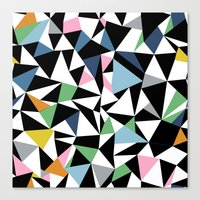 Abstraction Repeat #3 Canvas Print
