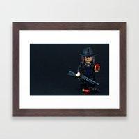 Bring It On Framed Art Print