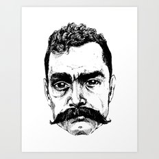 Zapata Art Print