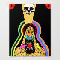Hail Mary Canvas Print