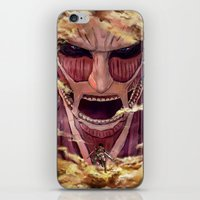 Colossal Titan iPhone & iPod Skin