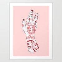Work It Art Print