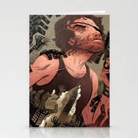 Escape From New York Poster Stationery Cards