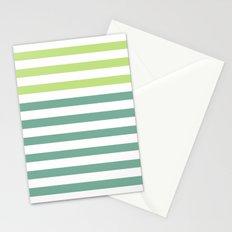 JADE STRIPES Stationery Cards