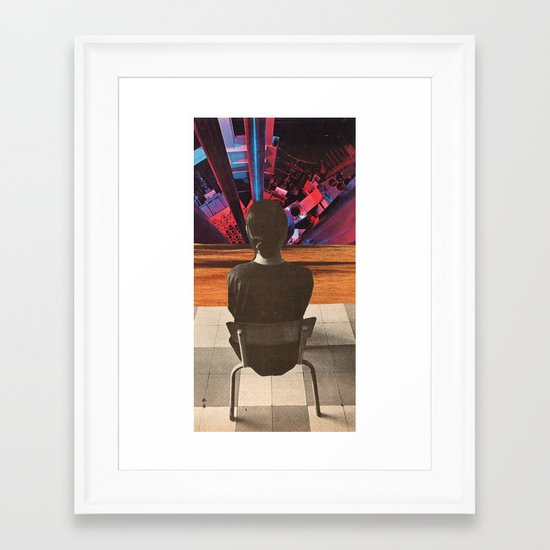 interrogation techniques Framed Art Print