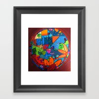 B2 Framed Art Print