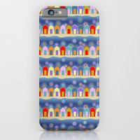 iPhone & iPod Case featuring Evenings at the shore by virginia odien