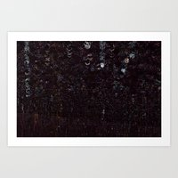 Cosmic Glitch Art Print