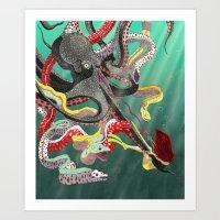 The Underdog Art Print