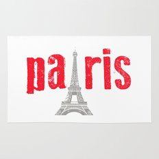 Paris Red Rug