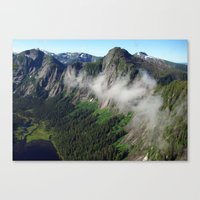 Misty Fjords Canvas Print