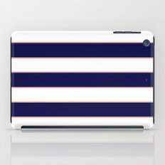 Double Stripes (Navy & Coral) iPad Case