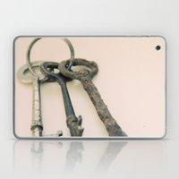Skeleton Keys Laptop & iPad Skin