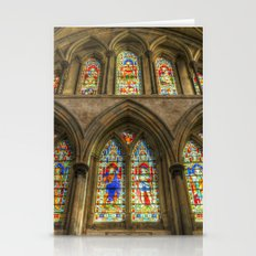 Rochester Cathedral Stained Glass Windows Stationery Cards