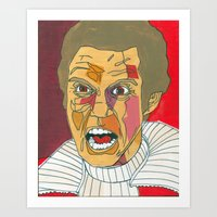 Sha-fro-Kahn Art Print