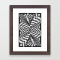 Crumble Framed Art Print