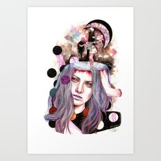 And Bring the Crazy Art Print