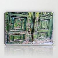 Green Door 3 Laptop & iPad Skin