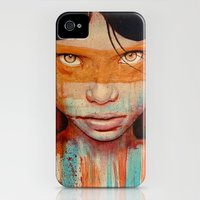 iPhone 4s & iPhone 4 Cases featuring Pele by Michael Shapcott